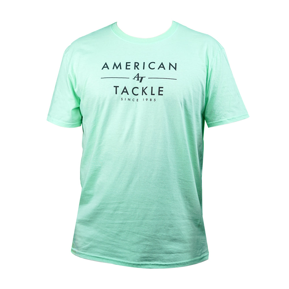 American Tackle Company Short Sleeve Shirt - American Tackle Mint (2021 Spring • Summer Collection)