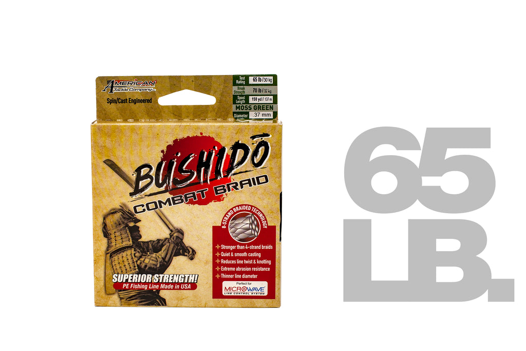 American Tackle Bushido Combat 8-Braid (65 LB)