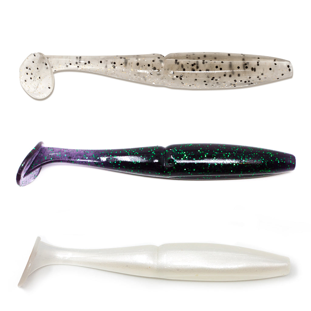 American Tackle ProStaff Baits | Bushido Shad (Various Colors)