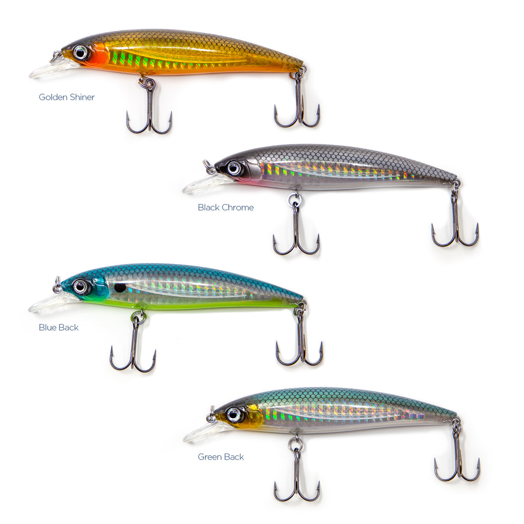 American Tackle ProStaff Bushido Jerk Baits | Assorted Colors