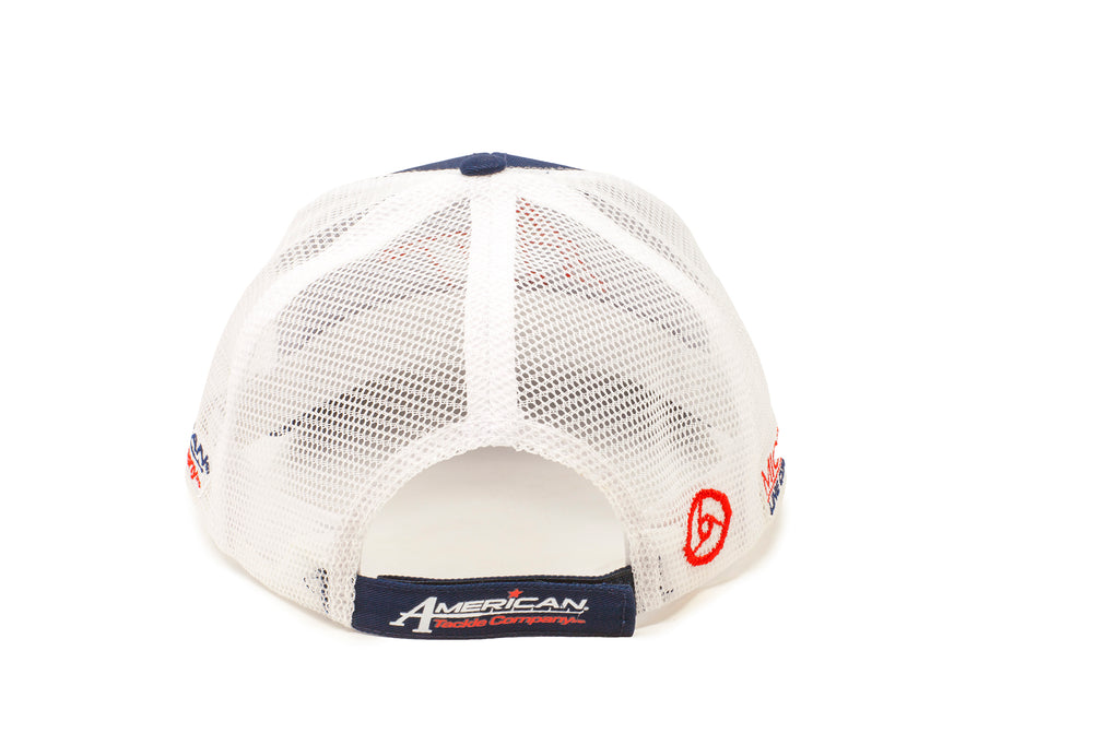 American Tackle Standard Mesh Back Hat - Blue