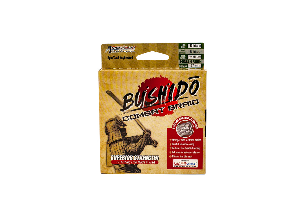 American Tackle Bushido Combat 8-Braid (20 LB)