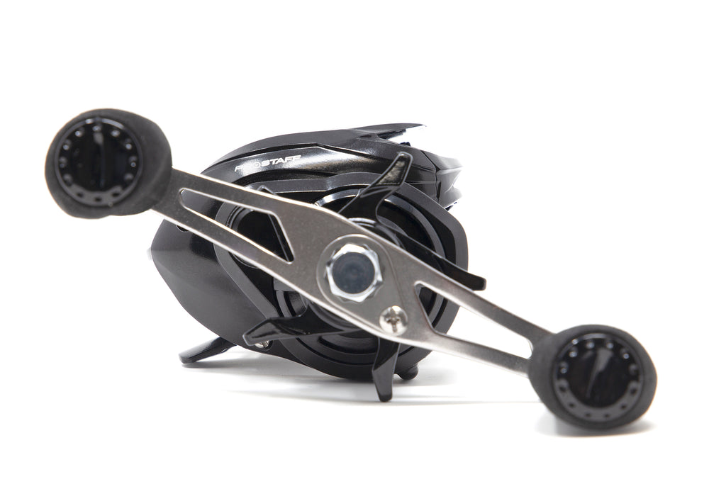 Special Edition American Tackle ProStaff LP8 Black Carbon Casting Reel (Left Retrieve Available)
