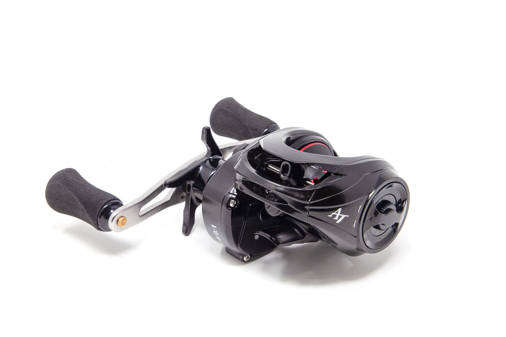 2-PACK - 2 Special Edition American Tackle ProStaff LP8 Black Carbon Casting Reels