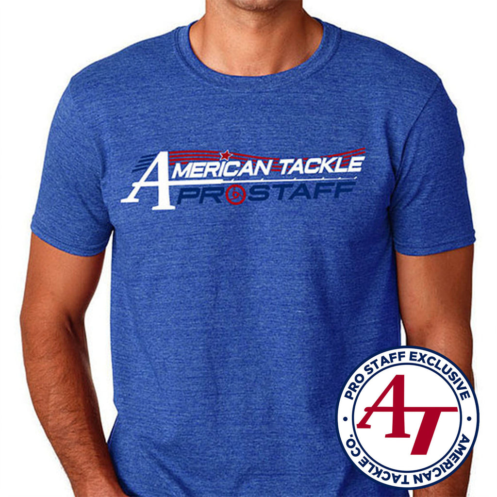 American Tackle ProStaff Short Sleeve Fitted Shirt - Denim