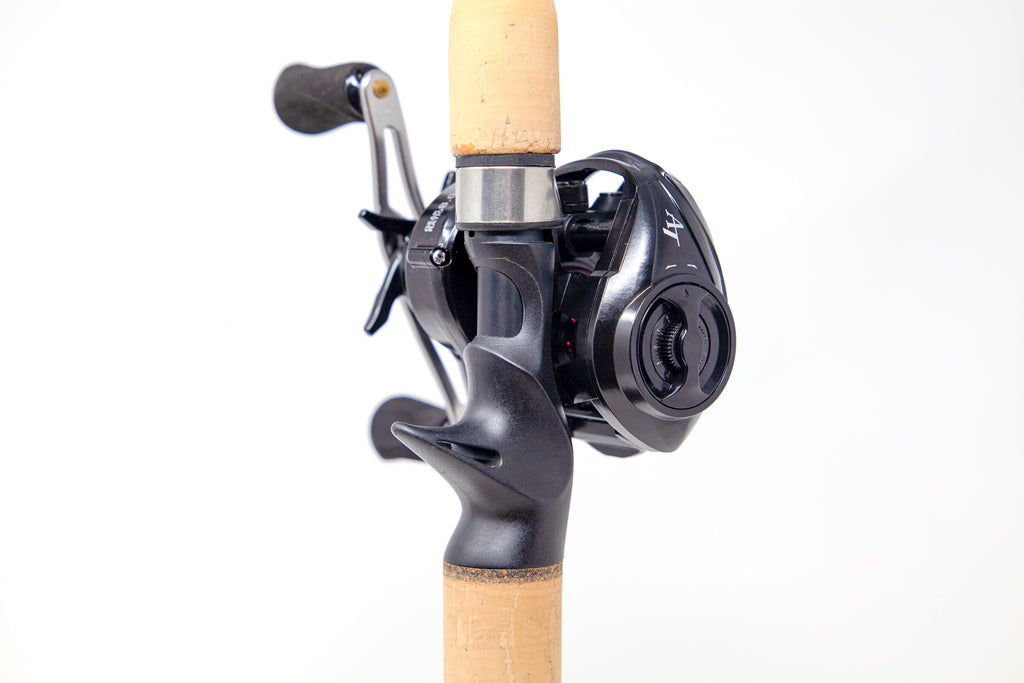 Toxic Biohazard THPT Unlabeled Series Casting Rods/Special Edition LP8 Carbon Casting Reel Combos