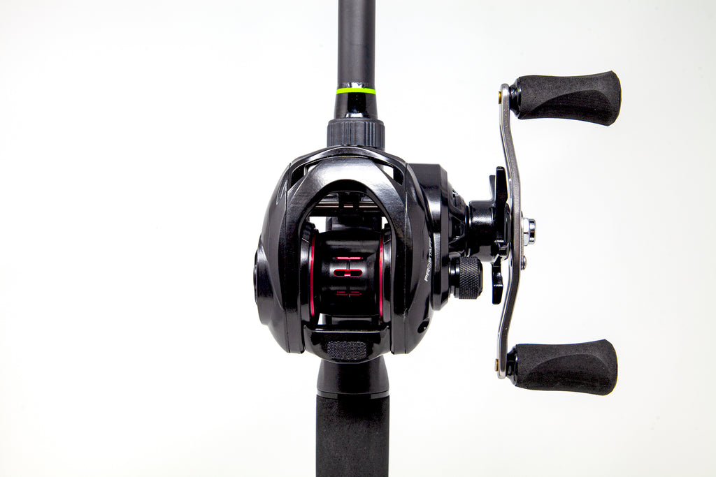 Toxic Biohazard TPS Unlabeled Series Casting Rods/Special Edition LP8 Carbon Casting Reel Combos