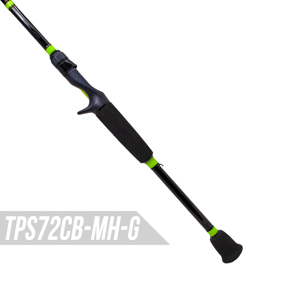 Green and Black Toxic Biohazard MicroWave Guide Rods - TPS Casting Series 4-Pack