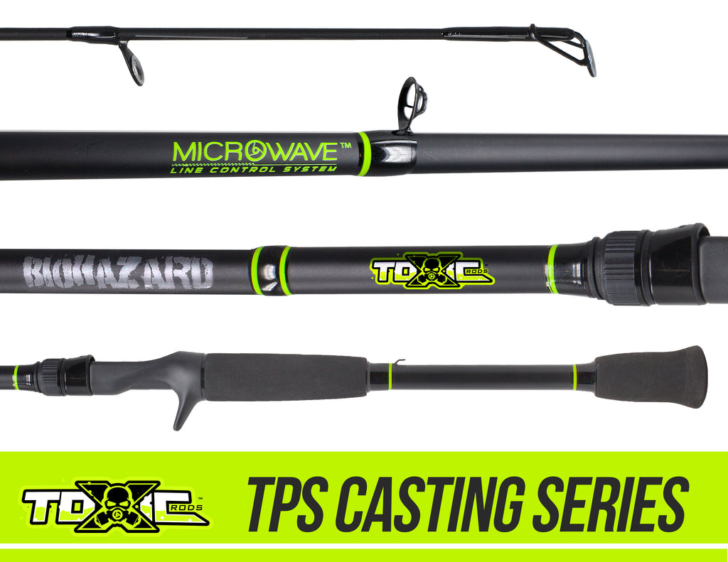 Toxic Biohazard MicroWave Guide Rods - TPS Casting Series