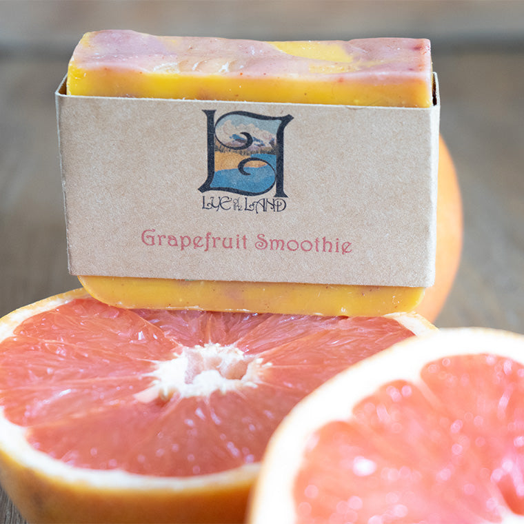 Grapefruit Smoothie Cold Process Soap