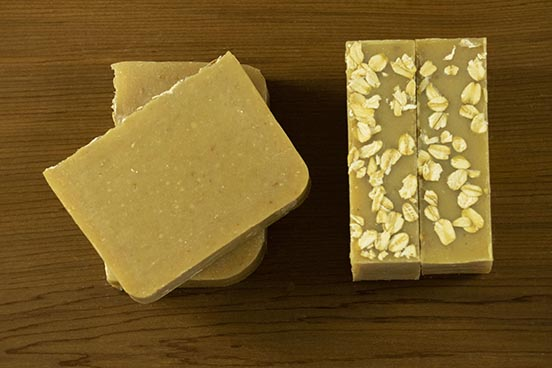 Honey Oatmeal Cold Process Soap