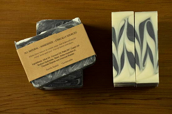 Black Licorice Cold Process Soap