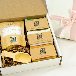 Soaps and Salt Gift Package