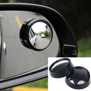 2PCS universal Driver 2 Side Wide Round Angle Mirror