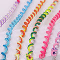 Rainbow Color Crystal Elastic Headband
