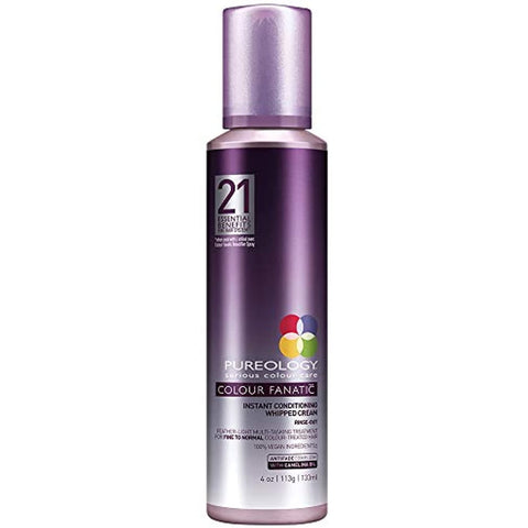 Pureology Colour Fanatic Instant Conditioning Whipped Cream, 4 Oz