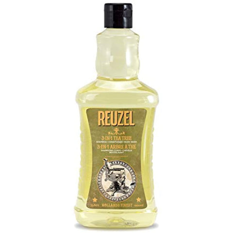 Reuzel 3-in-1 Tea Tree Shampoo 33.8 oz