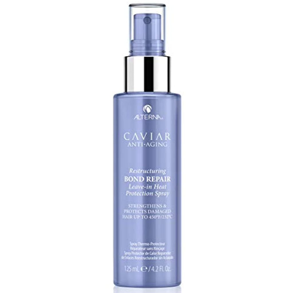 Alterna Caviar Anti-Aging Restructuring Bond Repair Leave-In Heat Protection Spray, 4.2 Oz