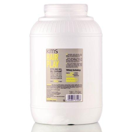 KMS HairPlay Firm Hold Styling Gel - 1 Gallon