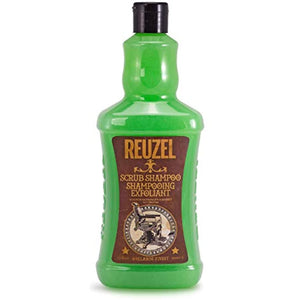 Reuzel Scrub Hair Shampoo for Men, 33.81 Oz