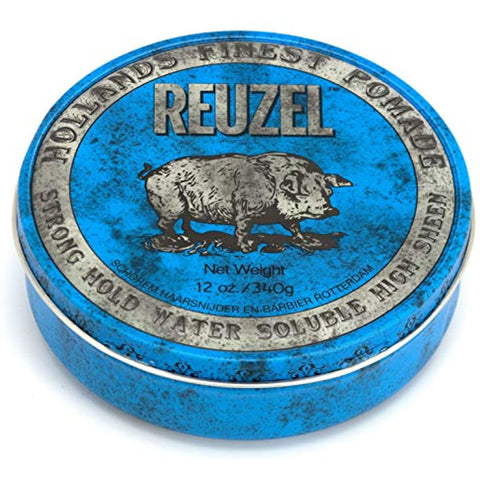 Reuzel Blue Strong Hold High Sheen, 12 Oz