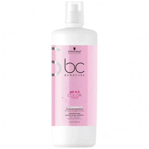 Schwarzkopf Bc Bonacure Color Freeze Silver Shampoo 33.8 Oz.