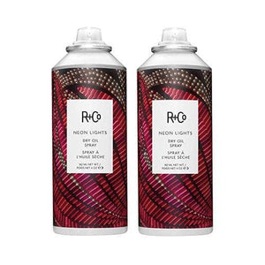 R+Co Neon Lights Dry Oil Spary 4 oz Pack of 2