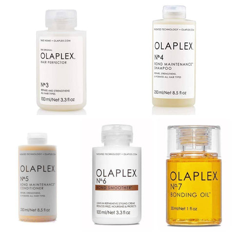Olaplex FAMILY PACK - No.3, No. 4, No. 5 , No. 6 & No. 7