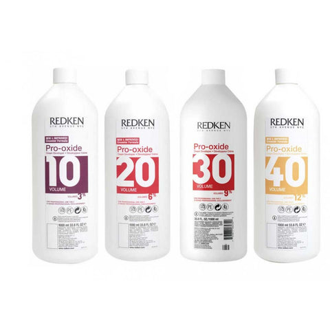 Redken Pro-Oxide Developer Volume 10,20,30,40