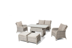 CHELTENHAM Lounge 6PC Kit/Set (2-Seater Version) LOUNGE OSMEN OUTDOOR FURNITURE - OSMEN OUTDOOR FURNITURE-Sydney Metro Free Delivery