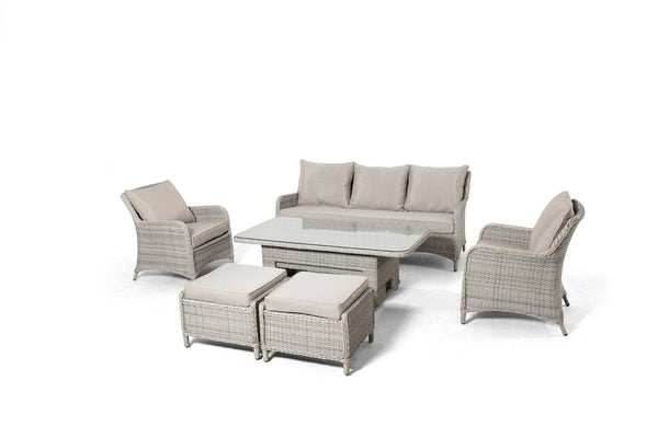 CHELTENHAM Lounge 6PC Kit/Set (3-Seater Version) LOUNGE OSMEN OUTDOOR FURNITURE - OSMEN OUTDOOR FURNITURE-Sydney Metro Free Delivery