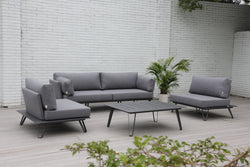 Blinca Premium Olefin® fabric 4pc Lounge Set - All weather®