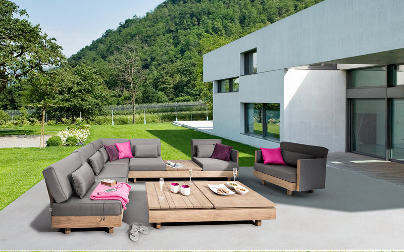 Module-X premium beeWett® fabric F1 Lounge setting - All weather®