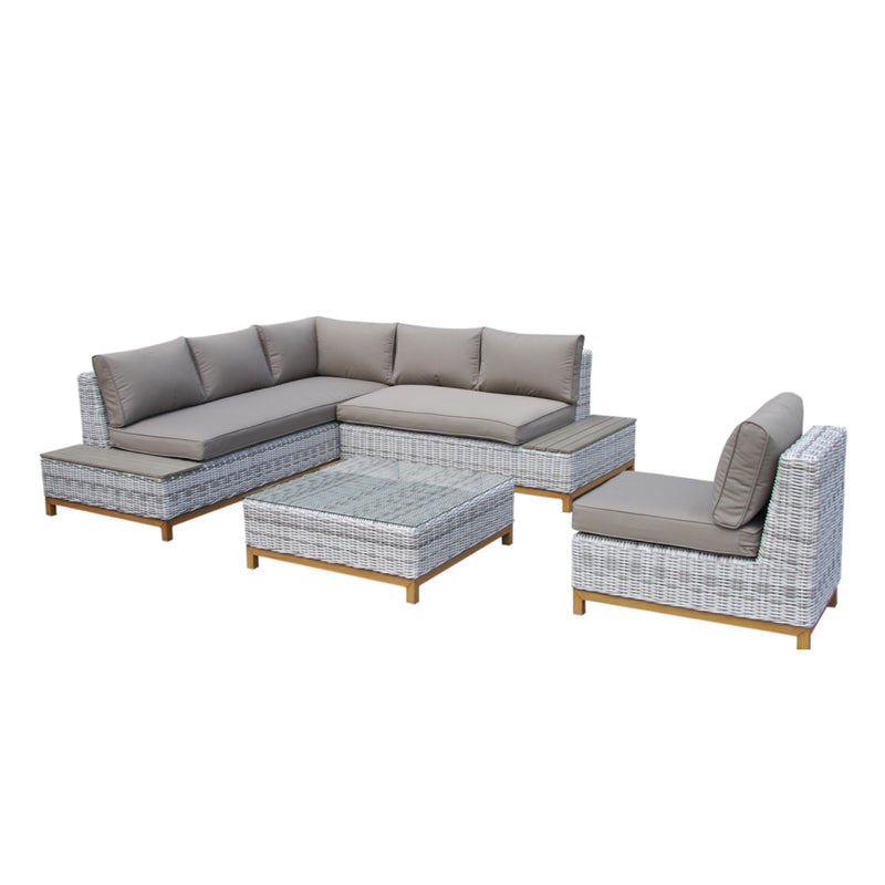 BRIGHTON 2.0  Modular 4PC Kit/Set LOUNGE Nest - OSMEN OUTDOOR FURNITURE-Sydney Metro Free Delivery