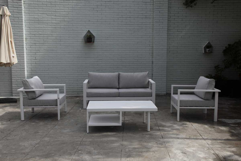 Berlin Lounge 4PC Kit/Set LOUNGE OSMEN - OSMEN OUTDOOR FURNITURE-Sydney Metro Free Delivery