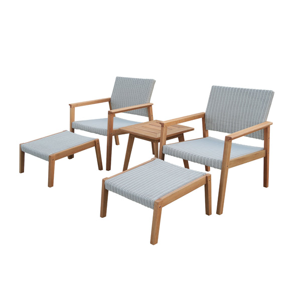CAPRI (ADRIA) LOW SETTING Balcony GOOD LIVING GLOBAL - OSMEN OUTDOOR FURNITURE-Sydney Metro Free Delivery
