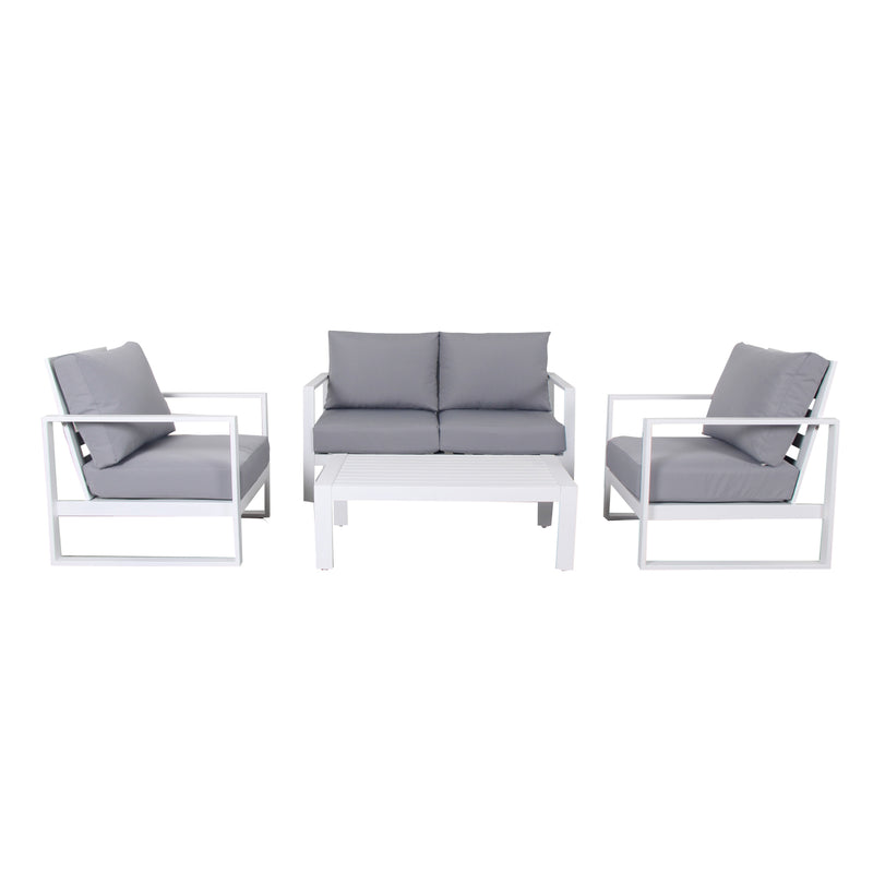 PONZA 4PCE DOUBLE LOUNGE LOUNGE GOOD LIVING GLOBAL - OSMEN OUTDOOR FURNITURE-Sydney Metro Free Delivery