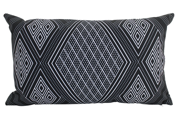 Outdoor Cushions - Highlands Black 30 x 50
