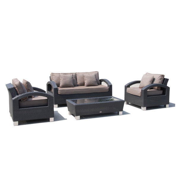 ALMO Lounge 4PC Kit/Set - OSMEN OUTDOOR FURNITURE-Sydney Metro Free Delivery