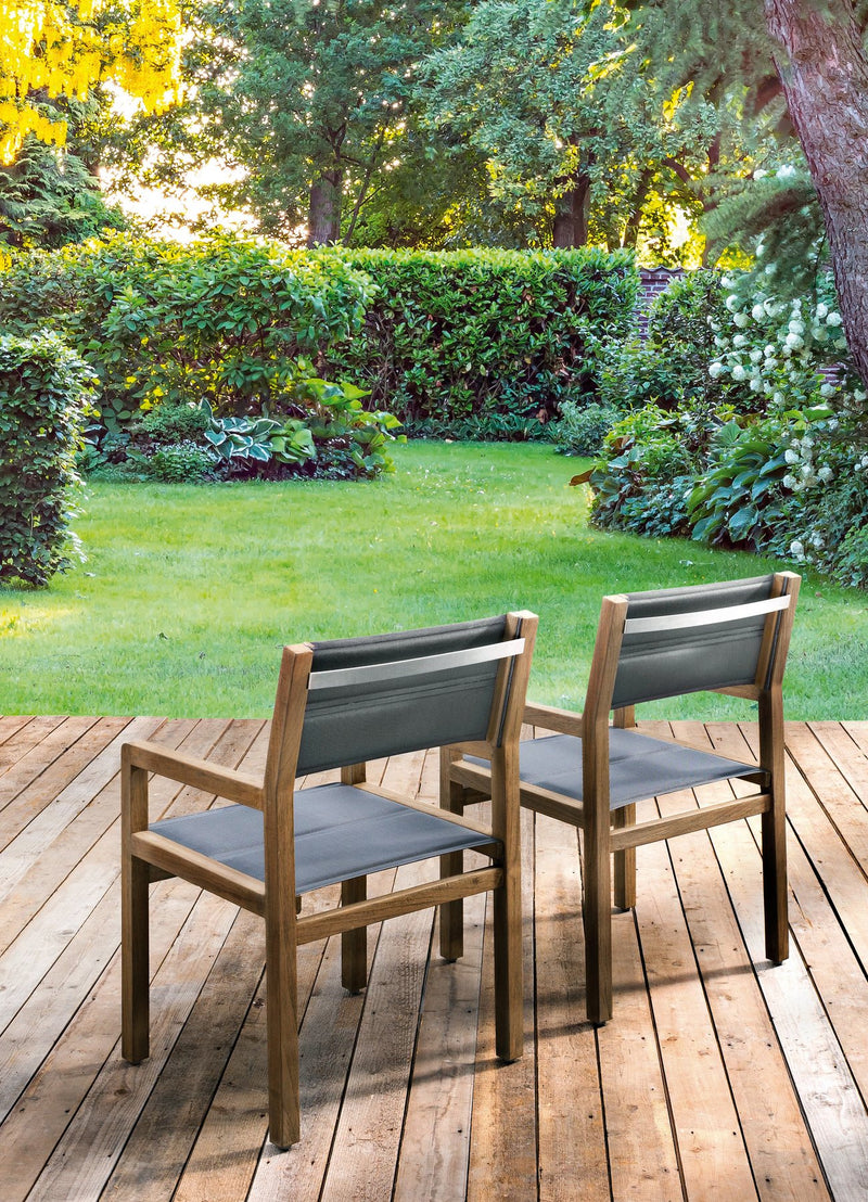 DelMar A- Grade teak (240cm Table + 6 chairs) Dining setting - Antique Finish® DINING Applebee - OSMEN OUTDOOR FURNITURE-Sydney Metro Free Delivery