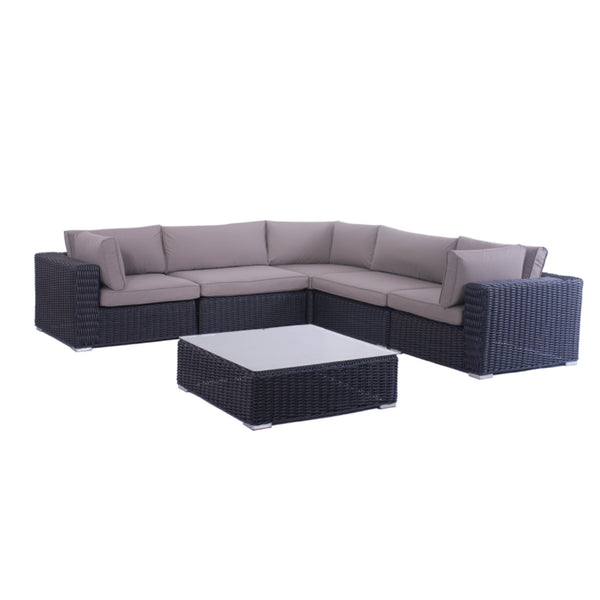 ELIZABETH Modular 6PC Kit/Set LOUNGE Nest - OSMEN OUTDOOR FURNITURE-Sydney Metro Free Delivery