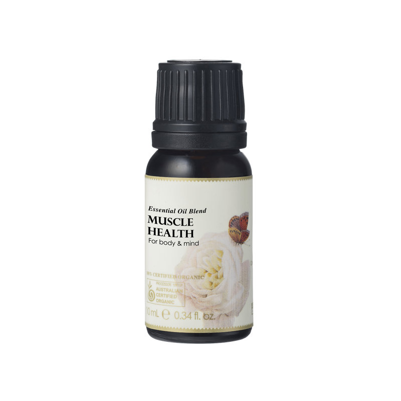 Muscle Health Essential Oil Blend OSMEN GIFT Ausganica - OSMEN OUTDOOR FURNITURE-Sydney Metro Free Delivery
