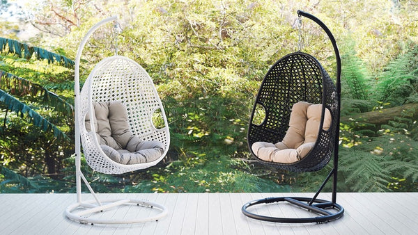 EMMY Relaxing Hanging Egg Chair HANGING EGG 0 - OSMEN OUTDOOR FURNITURE-Sydney Metro Free Delivery