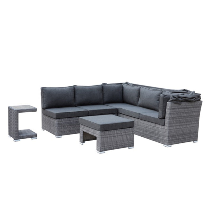 GRANADA Modular 5PC Kit/Set LOUNGE JOHNSON - OSMEN OUTDOOR FURNITURE-Sydney Metro Free Delivery