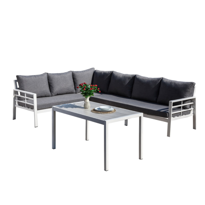 GULFPORT Modular 3PC Kit/Set LOUNGE JOHNSON - OSMEN OUTDOOR FURNITURE-Sydney Metro Free Delivery