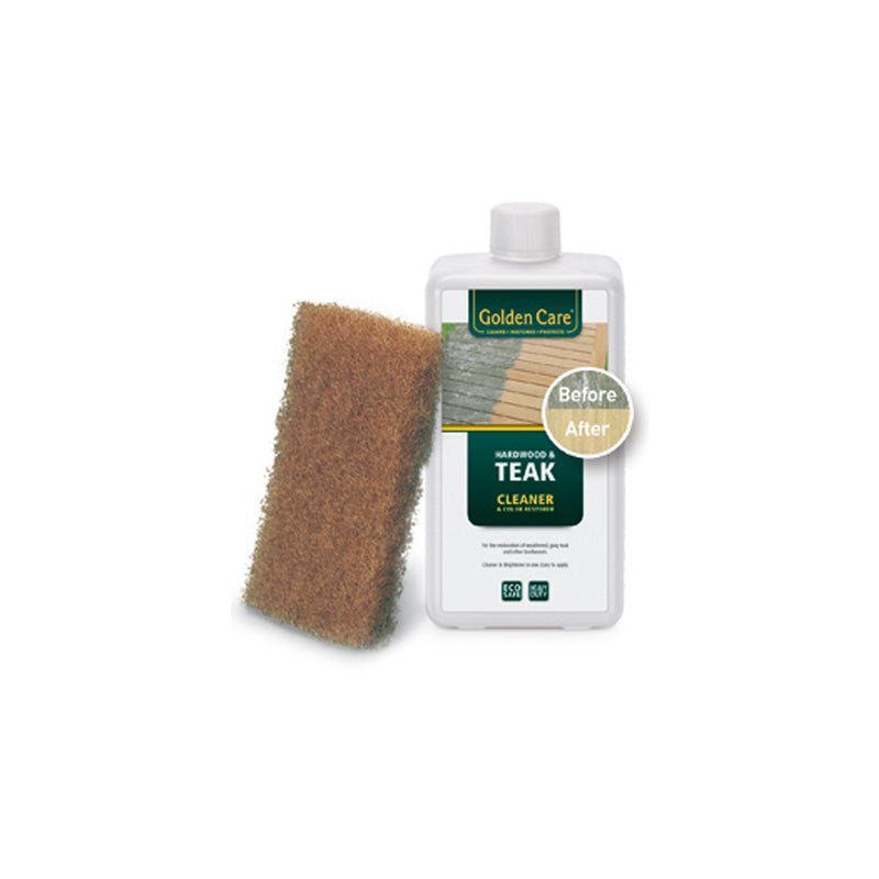 Teak & Hardwood Cleaner CARE AND MAINTENANCE KIT Golden Care - OSMEN OUTDOOR FURNITURE-Sydney Metro Free Delivery