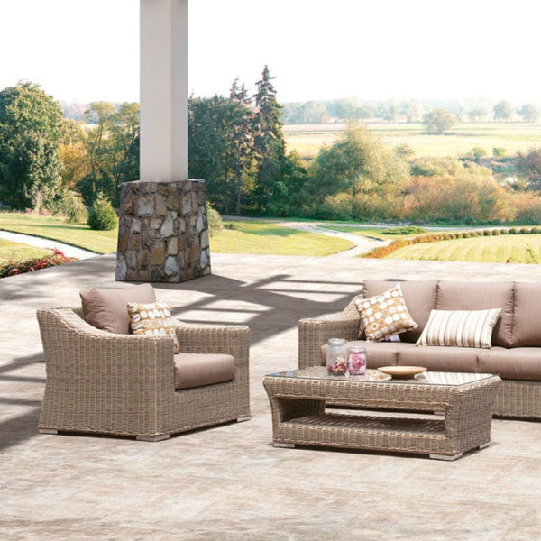 HOBART Lounge 4PC Kit/Set LOUNGE JOHNSON - OSMEN OUTDOOR FURNITURE-Sydney Metro Free Delivery