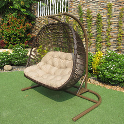 Havana Double Hanging Chair Osmen Outdoor Furniture