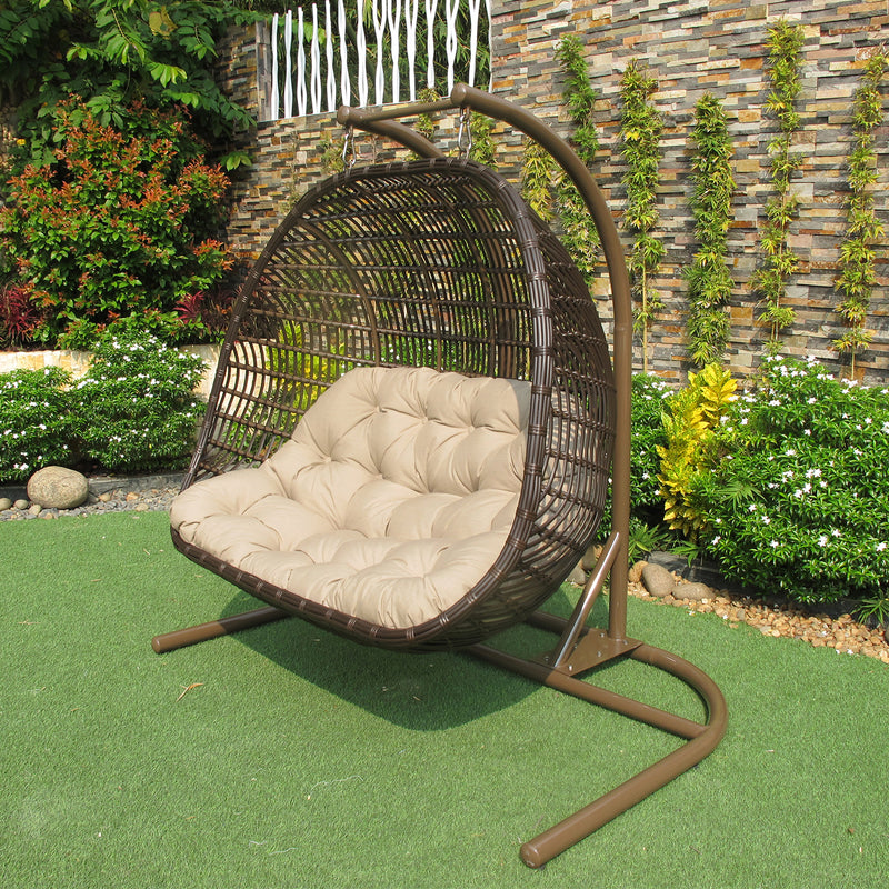 Miraculous Havana Double Hanging Chair Osmen Outdoor Furniture Alphanode Cool Chair Designs And Ideas Alphanodeonline