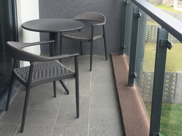 LUNA Carver Chair DINING Grand Garden - OSMEN OUTDOOR FURNITURE-Sydney Metro Free Delivery